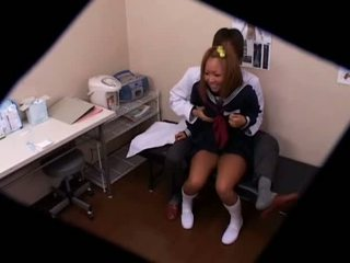 Schoolgirl Used By Doctor Spycam 4