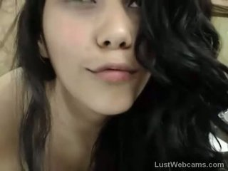 Hot latina teasing on webcam