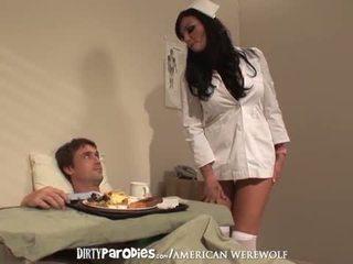 Nurse Lexi Ward and Richie Sex Encounter