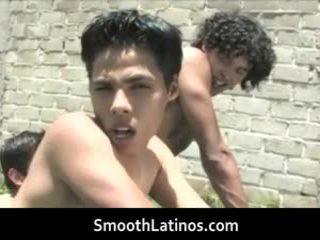 Astonishing queer latinos having gratis homosexual porno two door smoothlatinos