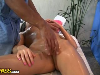 Massage With A Squirt And Blowjob1