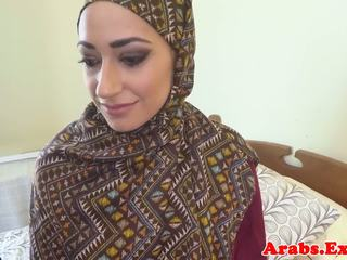 Pounded Muslim Babe Jizzed in Mouth, F...