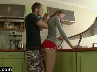 Első idő anális -ban a konyha