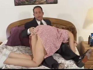 brunetka, seks oralny, dwie dziury