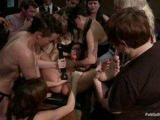 group sex, lezdom, vibrator