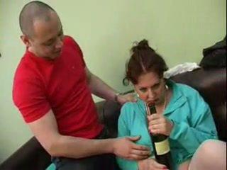 Guy zajebal njegov pijani mama