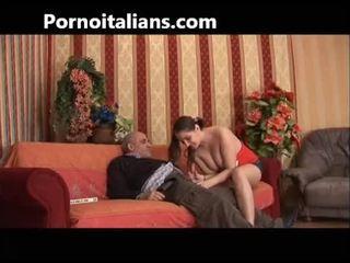 איטלקי incest! nephew fucks עם שלה דוד! נערה craving ל זין! nephew fucks