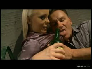 Sweetheart Angel Pink enjoying a thick shaft in her mouth like a lollipop