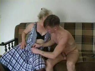 Sexy babička lena a alex