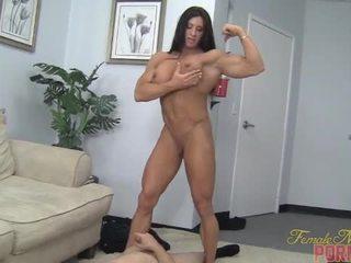 músculo, humillación, femenino