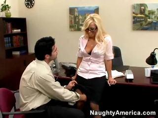 sexe hardcore, blondes, sexe de bureau nouveau