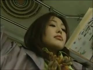 Japanilainen lesbo bussi seksi (censor.