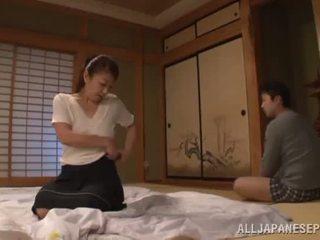 Ayano murasaki has unforgettably i bërë dashuria till going në divan