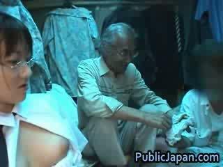 japanse, voyeur, exotisch