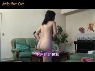 اليابانية موم seduced بواسطة salesman