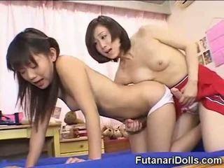 japanilainen, pieni, futanari