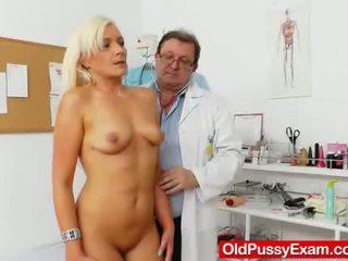doctor, oglindă, gynochair