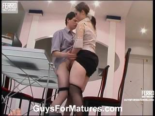 hardcore sex, maduros, sexo joven edad