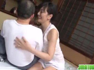 Zreli chic v japonsko has seks