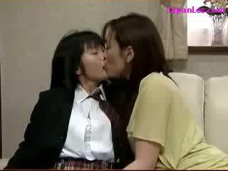 japonski, lezbijka, asian