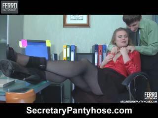 Alana charley sekretarka rajstopy film