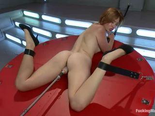 hardcore sex, rotaļlietas, jāšanās mašīna