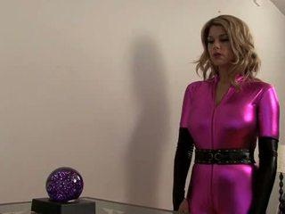 Carissa Montgomery-Super Heroine falls...