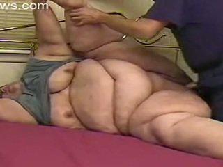 bbw, nenek, lemak
