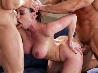 Kendra lust في ل المتشددين مجموعة من ثلاثة أشخاص, حر الاباحية 90