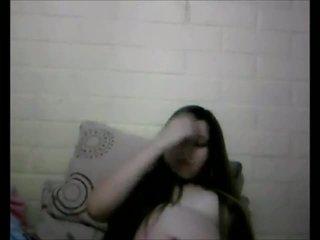 Verbazingwekkend zwanger tiener webcam tonen