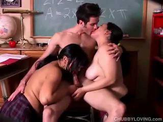Gordinhas bebês em sexo a 3