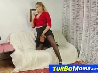 Russian mom Alina fucking and sucking young dick