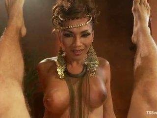 Ts yasmin lee като cleopatra tsseduction com специален особеност