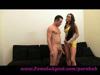 Femaleagent. bem endowed frenchman