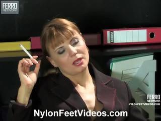 feticismo del piede, calza sesso, nylons feet
