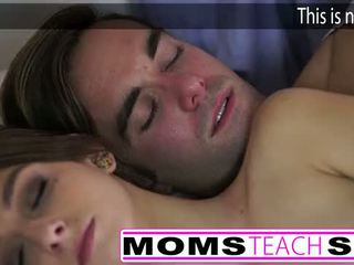 Caliente mamá y paso hijo joder joven novia