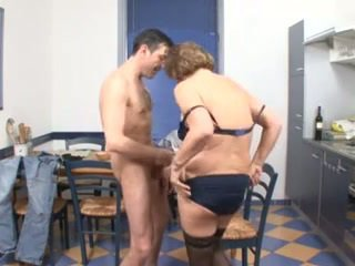 threesomes, old+young, german