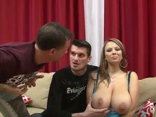 cumshots, big boobs, brunetes