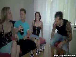 集団セックス, フェラチオ, 赤毛