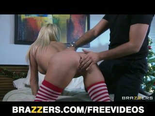 Blonde wife jessica nyx fucked hard in the ass