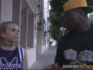 blowjob, hậu môn, tất cả interracial