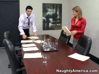 hardcore sex, kontor kön, sekreterare