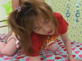 Gira asiática jovem grávida fodido difícil