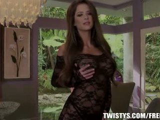 Emily addison strips out od ji bodysuit