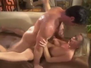 Cute cock creamer Bree Olson has her neatly trimmed twat fucked