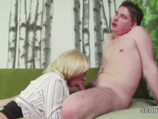 18yr Old German Boy Seduce Step-Mom Ma...