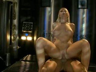Big titted ahryan astyn pumps her soaked aperture hard on a massive schlong
