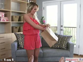 Sexy housewife Emily Austin fucking