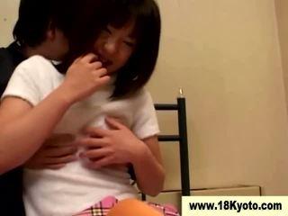 Japońskie brudne nastolatka uczennica wideo