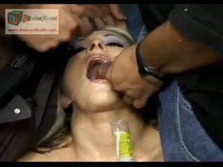 big dick, bukakke, throat